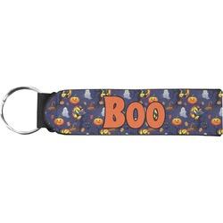 Halloween Night Neoprene Keychain Fob (Personalized)