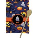 Halloween Night Kitchen Towel - Full Print (Personalized)