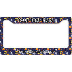 Halloween Night License Plate Frame (Personalized)