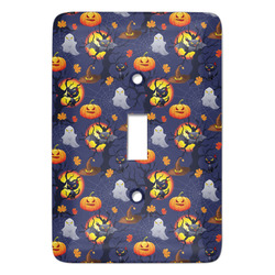 Halloween Night Light Switch Cover (Single Toggle) (Personalized)