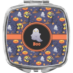 Halloween Night Compact Makeup Mirror (Personalized)