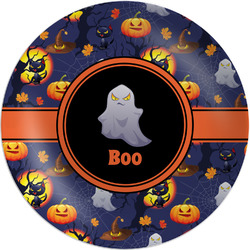 Halloween Night Melamine Plate (Personalized)