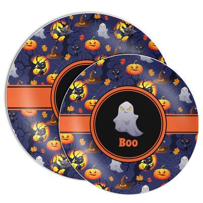 Halloween Night Melamine Plate (Personalized)