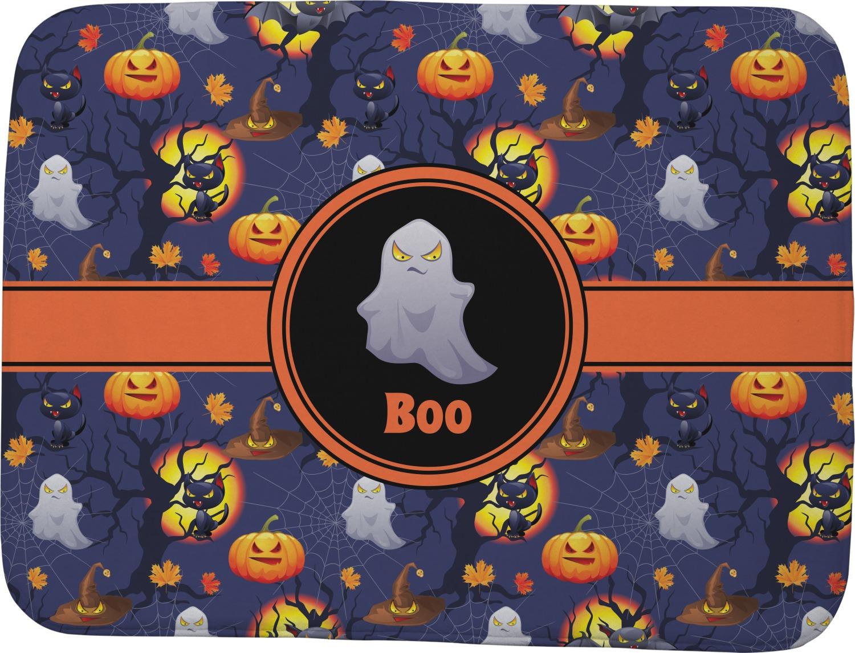 Halloween Night Memory Foam Bath Mat Personalized
