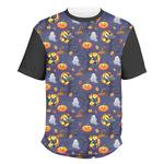 Halloween Night Men's Crew T-Shirt (Personalized)