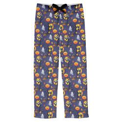 Halloween Night Mens Pajama Pants (Personalized)