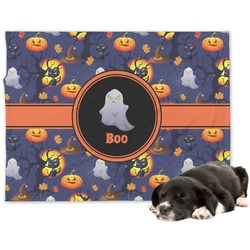 Halloween Night Dog Blanket (Personalized)
