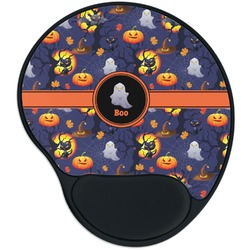 Halloween Night Mouse Pad with Wrist Support
