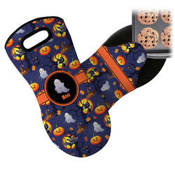Halloween Night Neoprene Oven Mitt (Personalized)