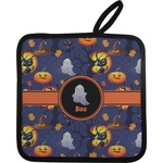 Halloween Night Pot Holder w/ Name or Text