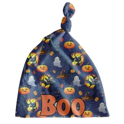 Halloween Night Newborn Hat - Knotted (Personalized)