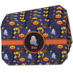 Halloween Night Dining Table Mat - Octagon w/ Name or Text