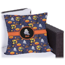 "Halloween Night Outdoor Pillow - 20"" (Personalized)"