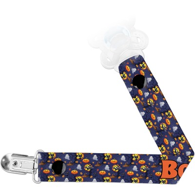 Halloween Night Pacifier Clips (Personalized)