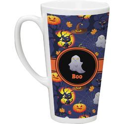 Halloween Night 16 Oz Latte Mug (Personalized)