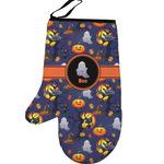 Halloween Night Left Oven Mitt (Personalized)