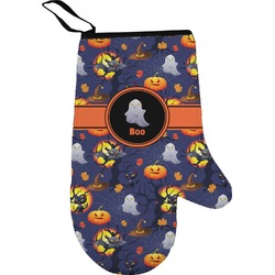 Halloween Night Right Oven Mitt (Personalized)