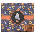 Halloween Night Outdoor Picnic Blanket (Personalized)
