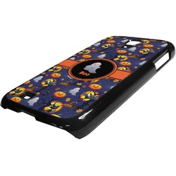 Halloween Night Plastic Samsung Galaxy 4 Phone Case (Personalized)