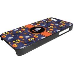 Halloween Night Plastic iPhone 5/5S Phone Case (Personalized)