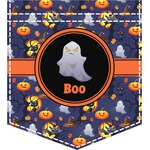 Halloween Night Iron On Faux Pocket (Personalized)