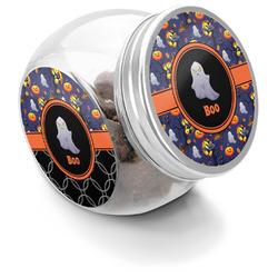 Halloween Night Puppy Treat Jar (Personalized)
