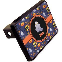 "Halloween Night Rectangular Trailer Hitch Cover - 2"" (Personalized)"