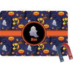 Halloween Night Rectangular Fridge Magnet (Personalized)