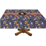 Halloween Night Rectangle Tablecloth (Personalized)