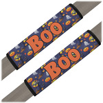 Halloween Night Seat Belt Covers (Set of 2) (Personalized)