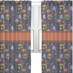 Halloween Night Sheer Curtains (Personalized)