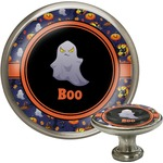 Halloween Night Cabinet Knob (Silver) (Personalized)