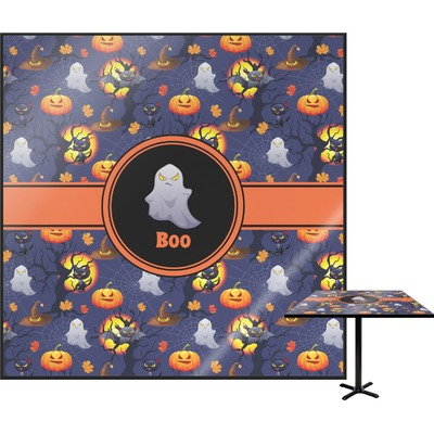 "Halloween Night Square Table Top - 30"" (Personalized)"