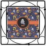 Halloween Night Square Trivet (Personalized)