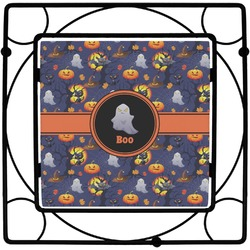 Halloween Night Square Trivet (Personalized)