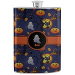 Halloween Night Stainless Steel Flask (Personalized)
