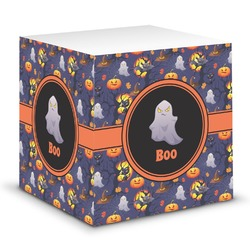Halloween Night Sticky Note Cube (Personalized)