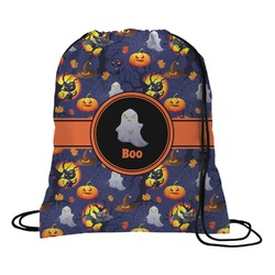 Halloween Night Drawstring Backpack (Personalized)