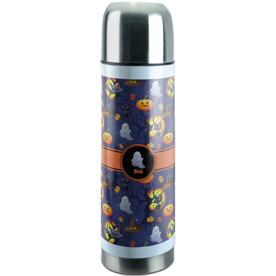 Halloween Night Stainless Steel Thermos (Personalized)