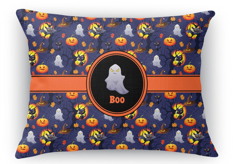 Halloween Night Rectangular Throw Pillow - 12