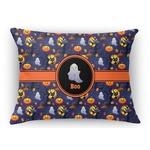 Halloween Night Rectangular Throw Pillow Case (Personalized)
