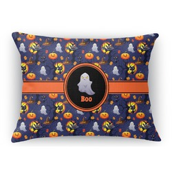 Halloween Night Rectangular Throw Pillow Case (Personalized)