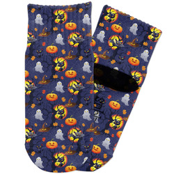 Halloween Night Toddler Ankle Socks (Personalized)
