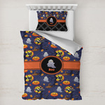 Halloween Night Toddler Bedding w/ Name or Text