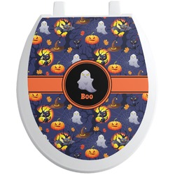 Halloween Night Toilet Seat Decal (Personalized)