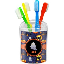 Halloween Night Toothbrush Holder (Personalized)