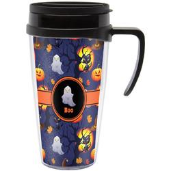 Halloween Night Travel Mug with Handle (Personalized)