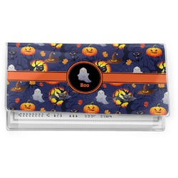 Halloween Night Vinyl Check Book Cover (Personalized)