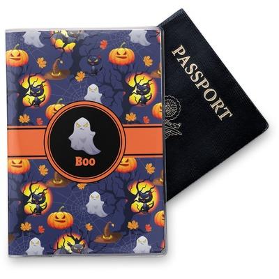 Halloween Night Vinyl Passport Holder (Personalized)