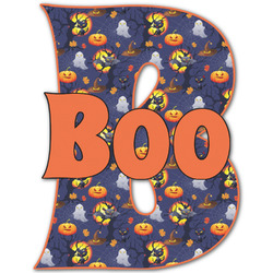 """Halloween Night Name & Initial Decal - Up to 12""""x12"""" (Personalized)"""